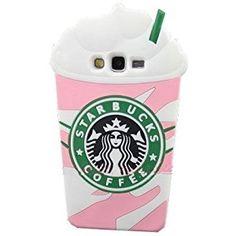 Galaxy G530 étui,Anya 3D Cute Cartoon Beverage Cup Soft Silicone Housses et étuis téléphones portables pour Samsung Galaxy Grand Prime G530 G5308W G530H Coffee Cup Ice Cream Pink