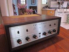 Fisher KX-100 Stereo Tube Integrated Amplifier-Wood Case-Gold Face-Sounds Great - http://electronics.goshoppins.com/vintage-electronics/fisher-kx-100-stereo-tube-integrated-amplifier-wood-case-gold-face-sounds-great/