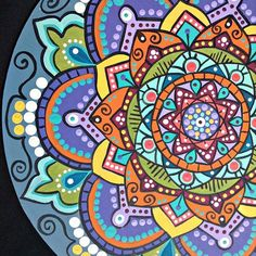 #mandala #mandalas #lelulemandalas #art #arte #pintadoamano #paint #mandalalove #design #diseñounico #colores #artdeco #cuadros #artesanal #work #zendala #zentangle #hechoamano #armonia #decoration #diseño #instacool #picoftheday #buenosaires