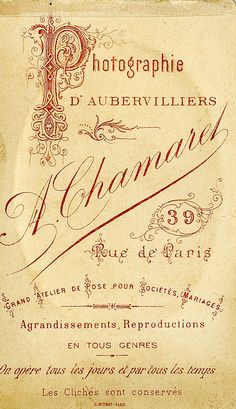 Antique French Perfume Label | Flickr - Photo Sharing!