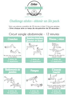 """Challenge """"six pack"""" abdominaux - Partie 1 #fitfrenchies #fitfam #fitness #motivation"""