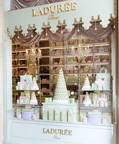 When visiting Paris you can't forget to stop by the famous Ladurée.