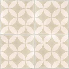 Carreaux de ciment - Les motifs - Carreau CO 37.07 - Couleurs & Matières