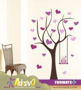 Adesivo Decorativo Árvore do Amorzinho - Lindos Adesivos Decorativos