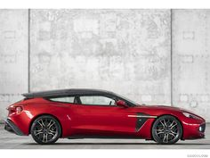 Aston Martin Vanquish Zagato Speedster and Shooting Brake Revealed Aston Martin Vanquish, Aston Martin V12 Vantage, Supercars, Automobile, Shooting Brake, Cabriolet, Unique Cars, Top Cars, Car Travel