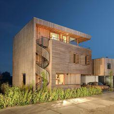 Casa de madeira na Holanda ~ ARQUITETANDO IDEIAS