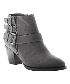 Look what I found on #zulily! Pewter Sweetie Pie Bootie #zulilyfinds