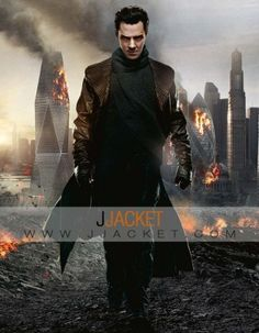 Star Trek Into Darkness Jacket - Benedict Cumberbatch Coat For Halloween Costume  Buy this Khan Coat at Jjacket.com only on $145 and get Coupon Code Save 10. Enjoy this awesome offer!!