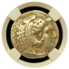 Alexander the Great Silver Tetradrachm NGC Very Fine