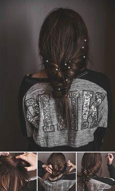 ADARAS Easy Hairstyles: Messy & Chic Faux Braid