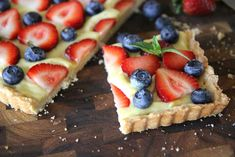Summer Fruit Tart Recipe (with video) - by Hilah Cooking