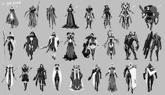 ArtStation - Illaiia / Character Concept Art/ CGMA Home Work, Yulia Misyul