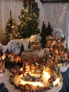 Christmas Village 2008:  D56 Dickens Village  Patty Smoot