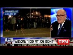 Nov 26 Rudy Giuliani On Ferguson Decision: I'd Prosecute Witnesses For Lying.   Former New York Mayor Rudy Giuliani weighed in on the Ferguson grand jury decision Tuesday night and said that if it were his case, he would prosecute some witnesses to the police shooting of unarmed teen Michael Brown for lying about what they saw.  (VIDEO)