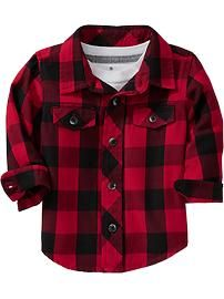 Plaid Shirts for Baby