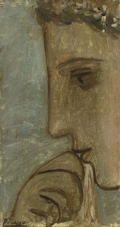 Pablo Picasso - Cabeza. Retrato de Maria Therese