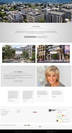 New website design for Victoria Realtor Colleen Ferguson. Uses the Ubertor CMS and is Responsive and mobile-ready. News Website Design, Website Designs, Custom Design, Photo Wall, Victoria, Fotografie, Site Design, Website Layout, Victoria Plum