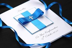 Image detail for -Handmade Personalised Confirmation and First Holy Communion Greeting ...