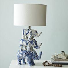 Elephant, elephant, elephant, lamp