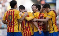 El 1x1 del Málaga-FC Barcelona