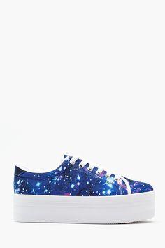 Zomg Platform Sneaker - Cosmic