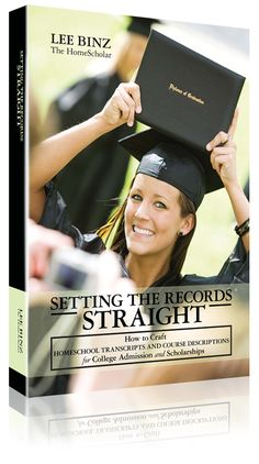Setting The Records Straight Book--help for homeschool college transcripts