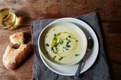 Celery root is intimidating—so turn it into soup. (switch out the tarragon)