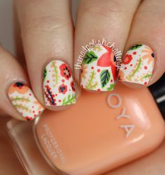 Wow, I cant believe its been almost two months since I last posted a challenge manicure! It was...