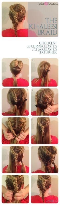 Game of Thrones braid tutorial