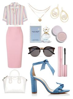 """""""Untitled #122"""" by mjayline on Polyvore featuring Roland Mouret, Alexandre Birman, Solid & Striped, Illesteva, Ippolita and Marc Jacobs"""