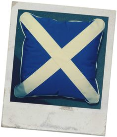 Replica Scottish flag made using Sunbrella canvas and marine grade zips and thread. www.thecoverco.co.nz