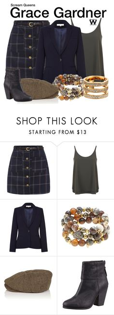"""""""Scream Queens"""" by wearwhatyouwatch ❤ liked on Polyvore featuring Miss Selfridge, Damsel in a Dress, Hipchik, Bhode & Company, rag & bone, Michael Kors, television and wearwhatyouwatch"""