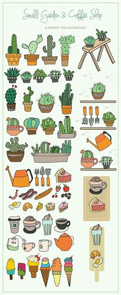 Vector cactuses shop