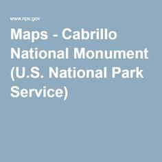 Maps - Cabrillo National Monument (U.S. National Park Service)