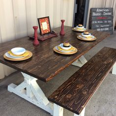 Rustic Design, American, Table, Crafts, Furniture, Home Decor, Manualidades, Decoration Home, Room Decor