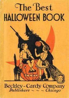 Vintage Children's Halloween Book