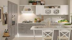 Stile minimale e moderno oppure gusto classico e fascino tradizione, qual è il tuo genere preferito? #50GruppoLUBE #design #arredamento #cucinelubetorino www.cucinelubetorino.it