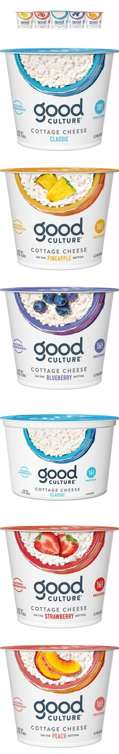 Good Culture Cottage Cheese Gets a Crisp New Look — The Dieline | Packaging & Branding Design & Innovation News