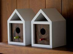 Danish Chalet bird house