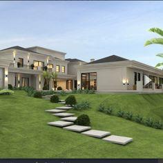 Dream Home Design, Modern House Design, My Dream Home, Style At Home, Luxury Homes Dream Houses, Dream House Exterior, Classic House, House Goals, Exterior Design