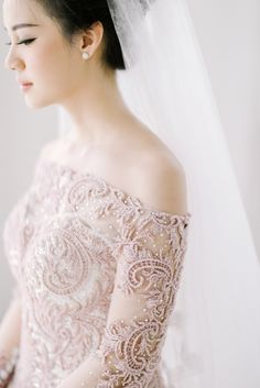 Inspiring post by Bridestory.com, everyone should read about A Glamorous Ballroom Wedding With Pink Shades In Surabaya
