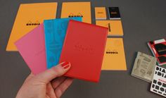 New #Rhodia pad covers - limited edition japanese design - http://notemaker.com.au/collections/rhodia-pad-covers