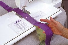sew long strips and straight     1/4 inch seams with this easy guide, tapes to sew machine