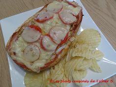 Les plats cuisinés de Esther B: Sous-marin garni