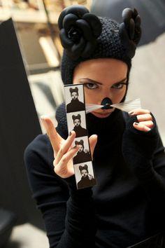 Freja Beha Erichsen for Chanel.