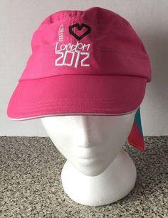 Olympics London 2012 Heart London Adjustable NEW NWT Pink Hat Cap