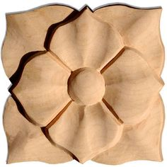 marietta square carved wood rosettes