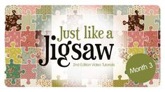 Join Sue Daley as she demonstrates how to create an EPP block using the shapes from Month 3 of Just like a Jigsaw 2nd Edition. This month features Six Pointe...