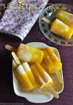 Mango Yogurt Popsicle Recipe