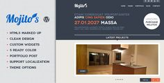 Mojitos Creative portfolio WordPress Theme